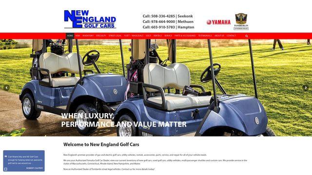 New England Golf Cars