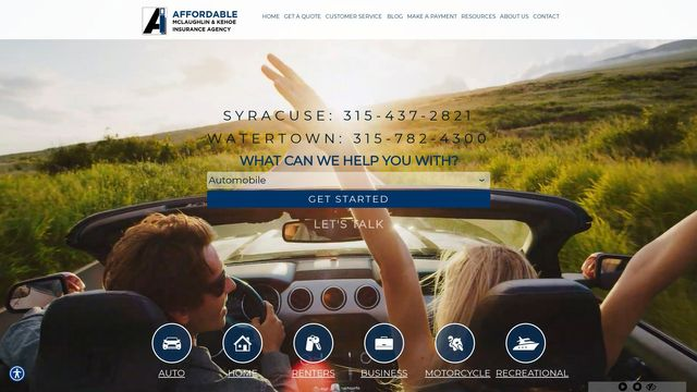 Affordable Mclaughlin Kehoe Insurance Agency