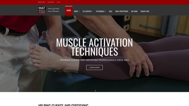 Muscle Activation Techniques