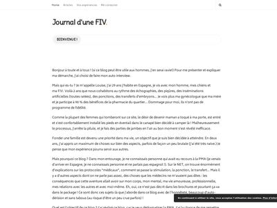 Journal d'une FIV