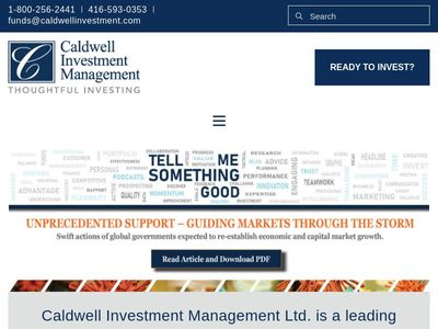 Caldwell Investment Management Ltd.