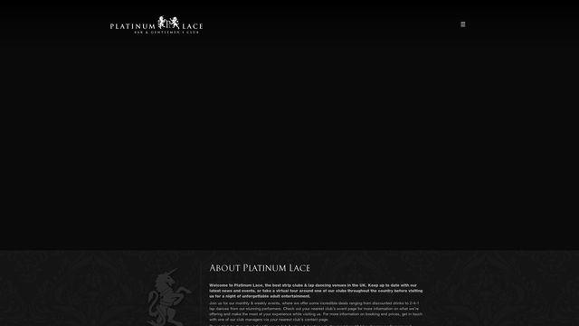 Platinum Lace Glasgow