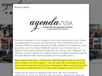 Agenda: USA