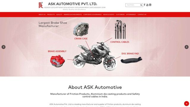 Ask Automotive Private Limited