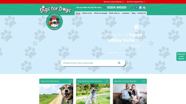 Digs For Dogs Home Boarding