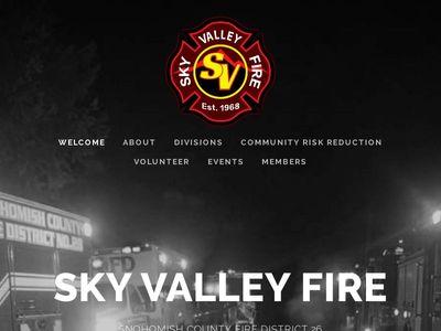 Sky Valley Fire
