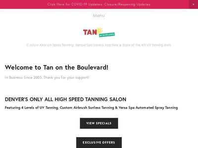 Tan On The Boulevard