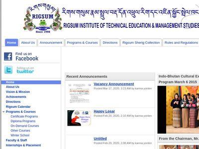 Rigsum Institute