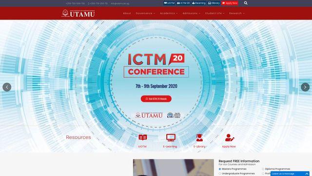 Uganda Technology And Management University