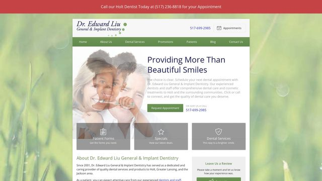 Dr. Edward Liu General & Implant Dentistry