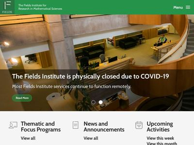 Fields Institute For Research