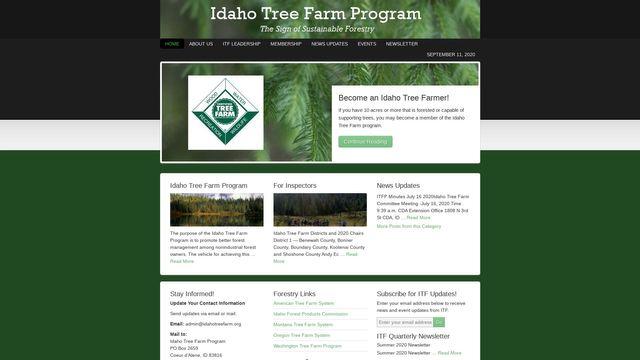 Idaho Tree Farm
