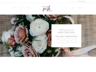 Seattle Wedding Planner, Perfectly Posh Events