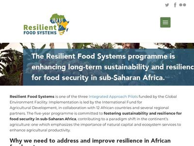 Resilient Food Systems