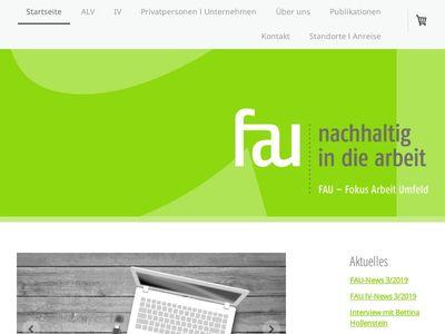 FAU - Fokus Arbeit Umfeld