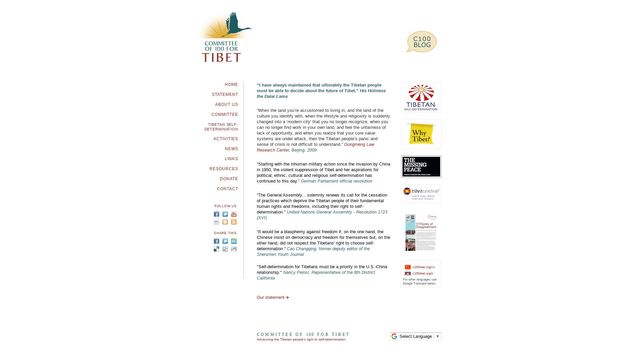 Committee of 100 for Tibet