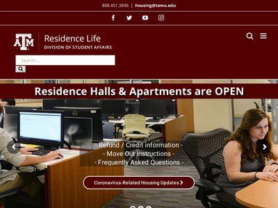 Residence Life | Texas A&M University