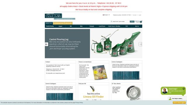 Limora Oldtimer Gmbh & Co. Kg