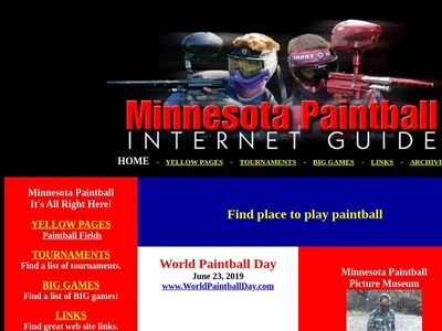 Minnesota Paintball Guide
