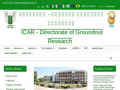 ICAR-Directorate of Groundnut Research, Junagadh