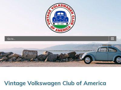 Vintage Volkswagen Club Of America