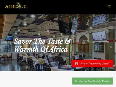 Afrique Restaurant & Entertainment, LLC.