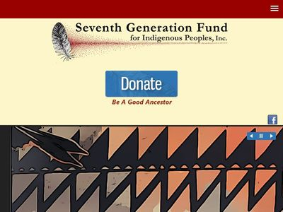 Seventh Generation Fund for Indigenous Peoples, Inc.
