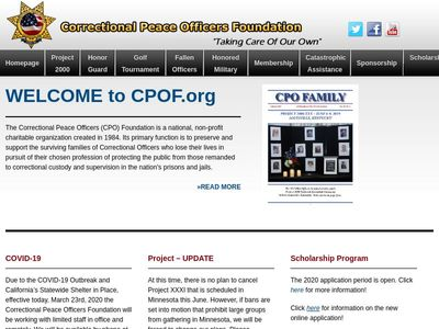 Correctional Peace Officers Foundation, Inc.