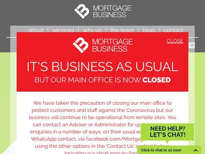 Mortgage Business Financial Advisers Limited