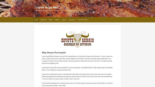 Coyote Sergio BBQ
