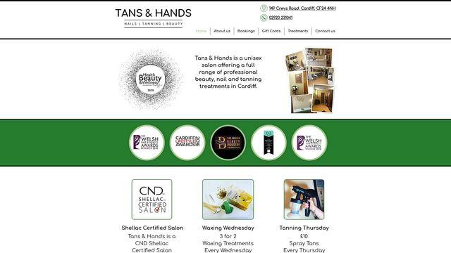 Tans & Hands
