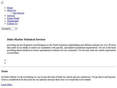 Duke Marine Technical Services Inc.