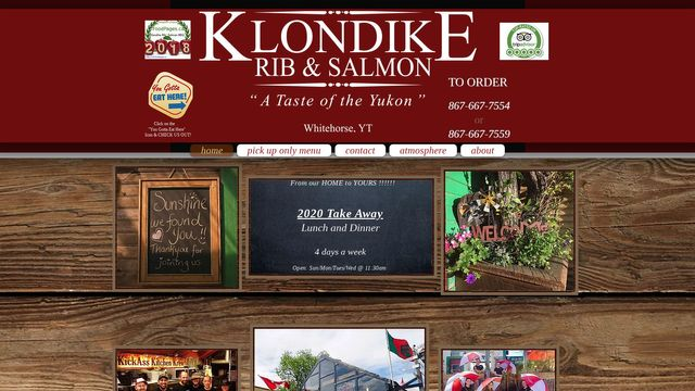 Klondike Rib & Salmon