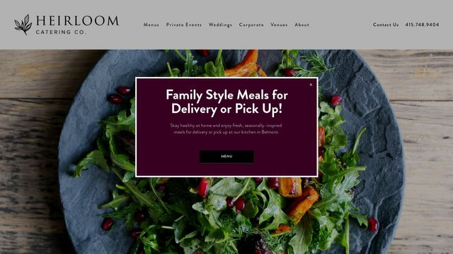 HEIRLOOM CATERING CO.