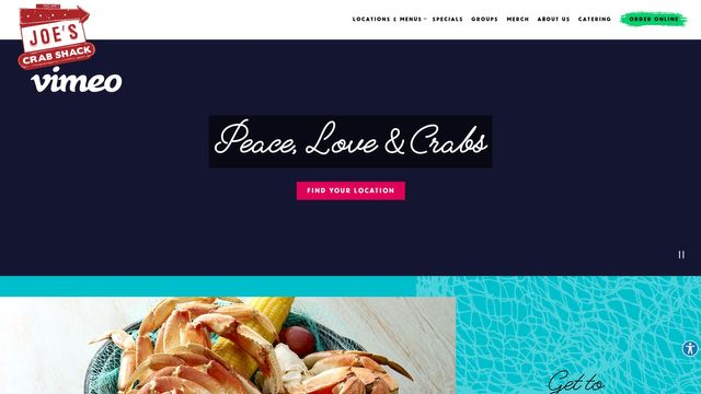 Joe's Crab Shack | Seafood Chain in the US
