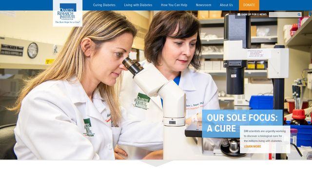The Diabetes Research Institute Foundation, Inc.