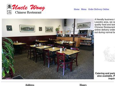 Uncle Wong Chinese Restaurant