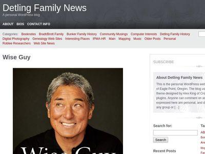 Detling Family News