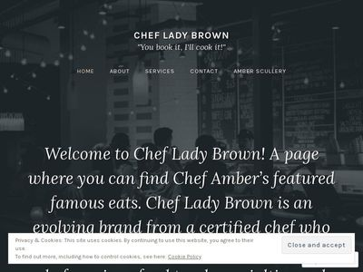 Chef Lady Brown