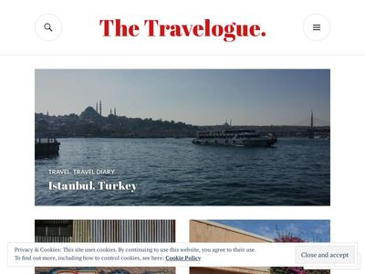 The Travelogue.