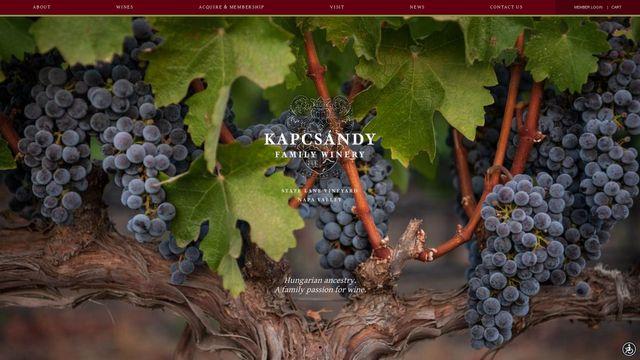 Kapcsandy Family Wines