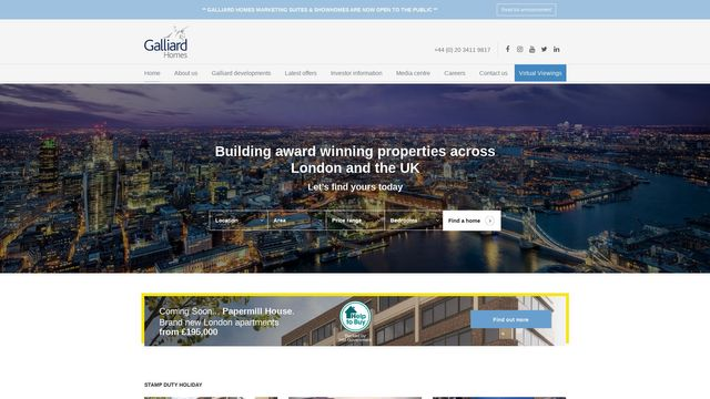 Galliard Homes Limited