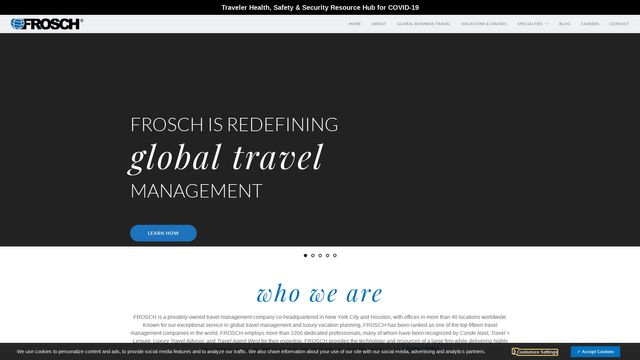 FROSCH International Travel, Inc.