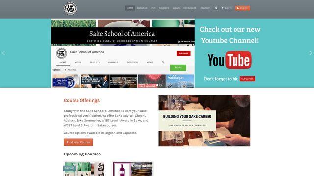 Sake School of America