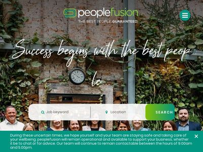 peoplefusion recruitment
