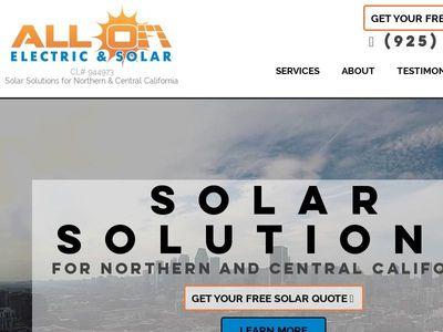 All On Electric & Solar Inc.