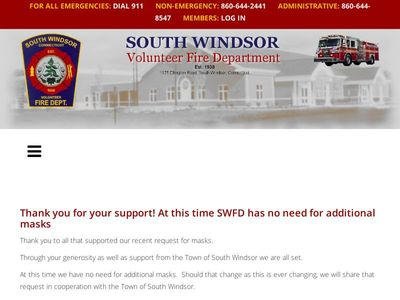 South Windsor Fire Department