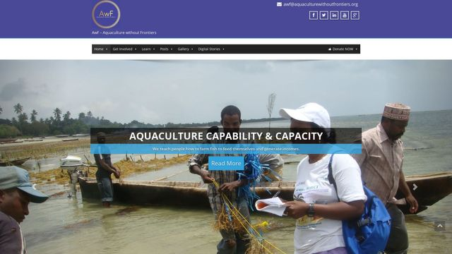 AwF - Aquaculture without Frontiers