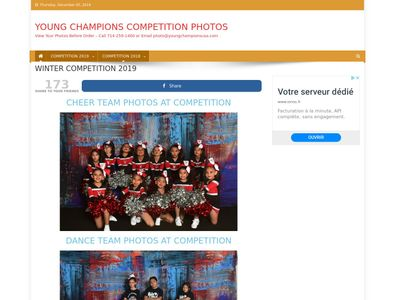 YOUNG CHAMPIONS COMPETITION PHOTOS