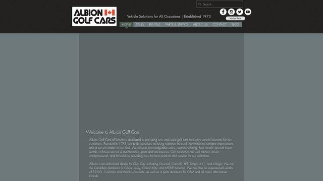 Albion Golf Cars